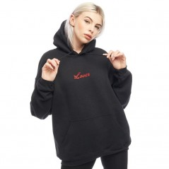 Adolescent Clothing Lover Hoodie Black