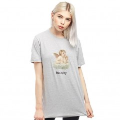 Adolescent Clothing But Why T-Grey