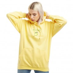 Adolescent Clothing Bitter Hoodie Yellow