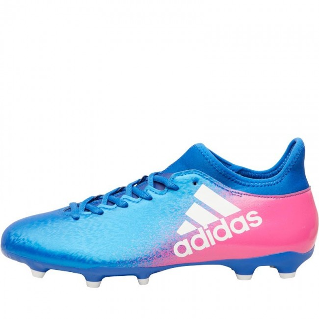 adidas X 16.3 FG Blue/White/Shock Pink
