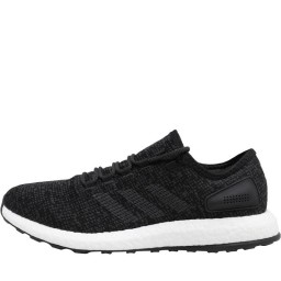 adidas PureBOOST Black/Dark Grey Heather Solid Grey/Black