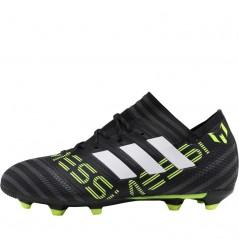 adidas Junior Nemeziz MESSI 17.1 FG Black/ White/Solar Yellow