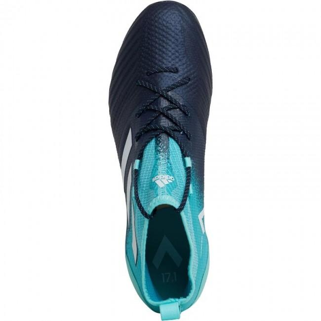 adidas ACE 17.1 AG Energy Aqua/ White/Legend Ink