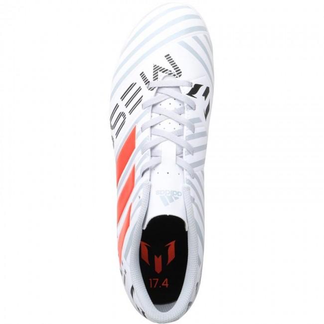 adidas Nemeziz MESSI 17.4  White/Solar Orange/Clear Grey