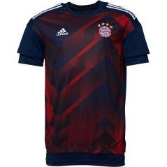 adidas FC Bayern Munich Home Pre-Match Collegiate Navy/FCB True Red
