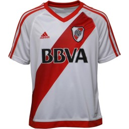 adidas Junior CARP River Plate Home White/Power Red