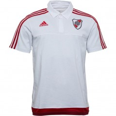 adidas River Plate Polo White/Power Red