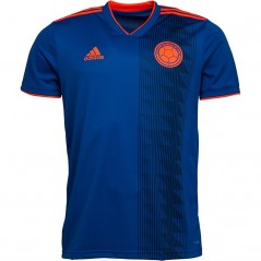 adidas FCF Colombia Away Blue/Solar Red