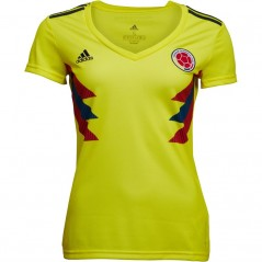 adidas FCF Colombia Home Bright Yellow/Collegiate Navy