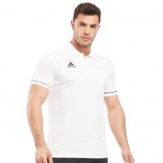 adidas Tiro Polo White/Black