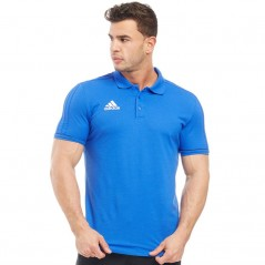adidas Tiro 17 Polo Blue/White