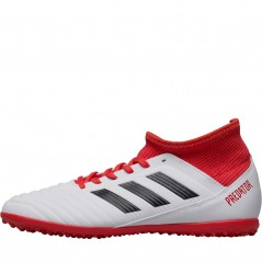 adidas Junior Predator Tango 18.3 TF Astro  White/Black/Real Coral