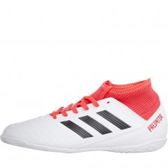 adidas Junior Predator Tango 18.3 IN  White/Black/Real Coral