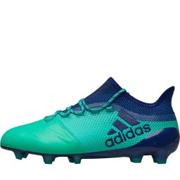 adidas X 17.1 Leather FG Unity Ink/Unity Ink/Hi-Res Green