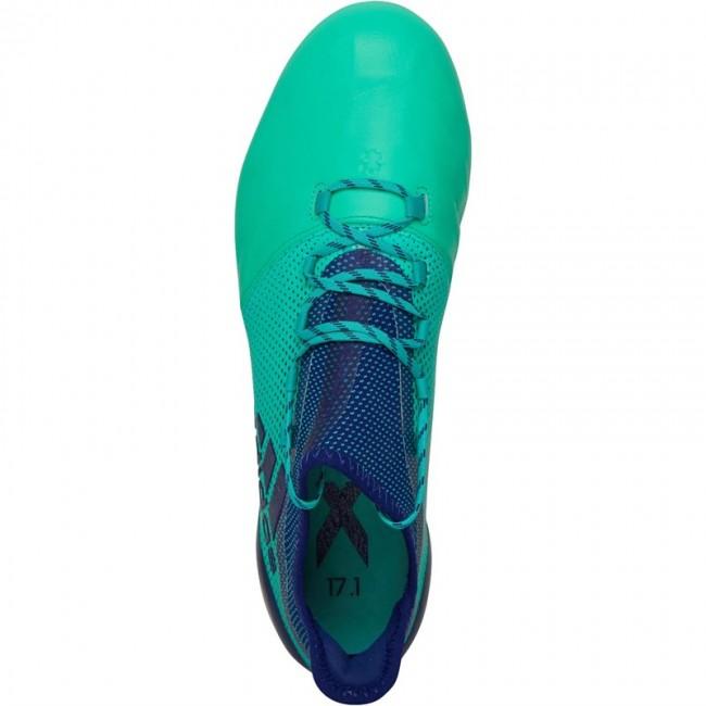 adidas X 17.1 Leather FG Unity Ink/Unity Ink/Hi-Res Green
