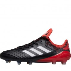 adidas Copa 18.1 FG Black/ White/Real Coral