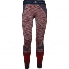 adidas x Stella McCartney Yoga Seamless Space Dye Tights Collegiate Navy/Dark Callisto/White