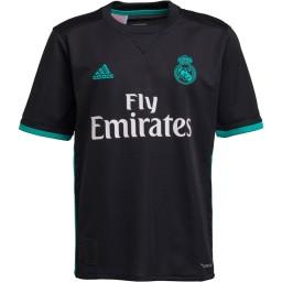 adidas Junior RMCF Real Madrid Away Jersey Black/Aero Reef