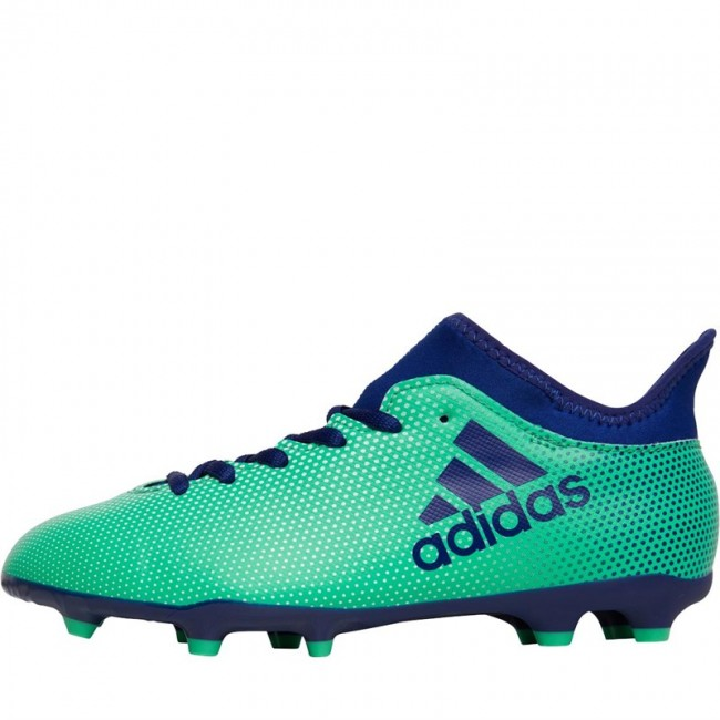 adidas Junior X 17.3 FG Aero Green/Unity Ink/Hi-Res Green