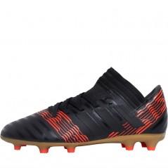 adidas Junior Nemeziz 17.3 FG Black/Black/Solar Red