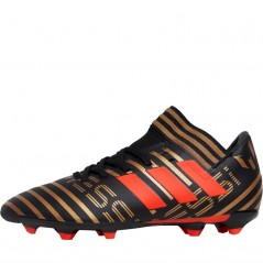 adidas Junior Nemeziz Messi 17.3 FG Black/Solar Red/Tactile Gold Metallic