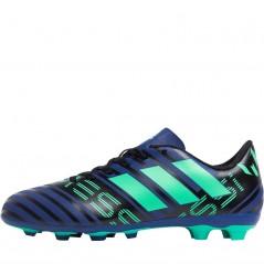 adidas Junior Nemeziz Messi 17.4 FxG Unity Ink/Hi-Res Green/Black