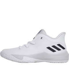 adidas Junior Rise 2 Basket White/LGH Solid Grey/Black