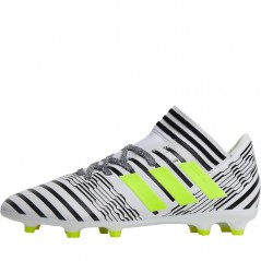 adidas Junior Nemeziz 17.3 FG  White/Solar Yellow/Black