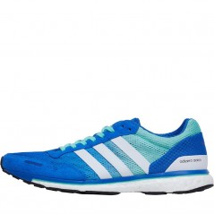 adidas adizero Adios 3 Blue/ White/Easy Green