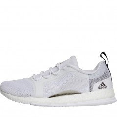 adidas PureBOOST X Trainer 2.0  White/Silver Metallic/Black
