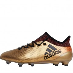 adidas X 17.1 FG Tactile Gold/Black/Solar Red
