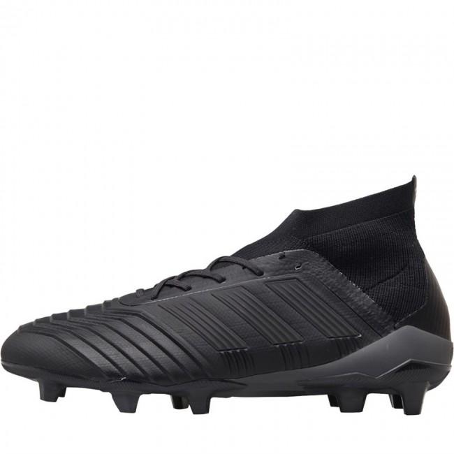 adidas Predator 18.1 FG Black/Black/Real Coral