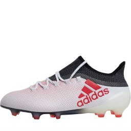 adidas X 17.1 FG  White/Real Coral/Black