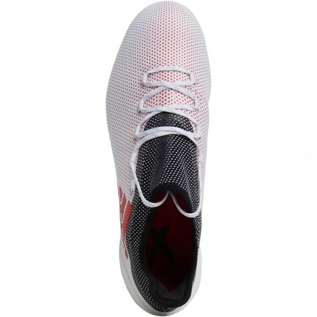 adidas X 17.1 FG  White/Real Coral/Black