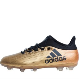 adidas X 17.2 FG Tactile Gold Metallic/Black/Solar Red