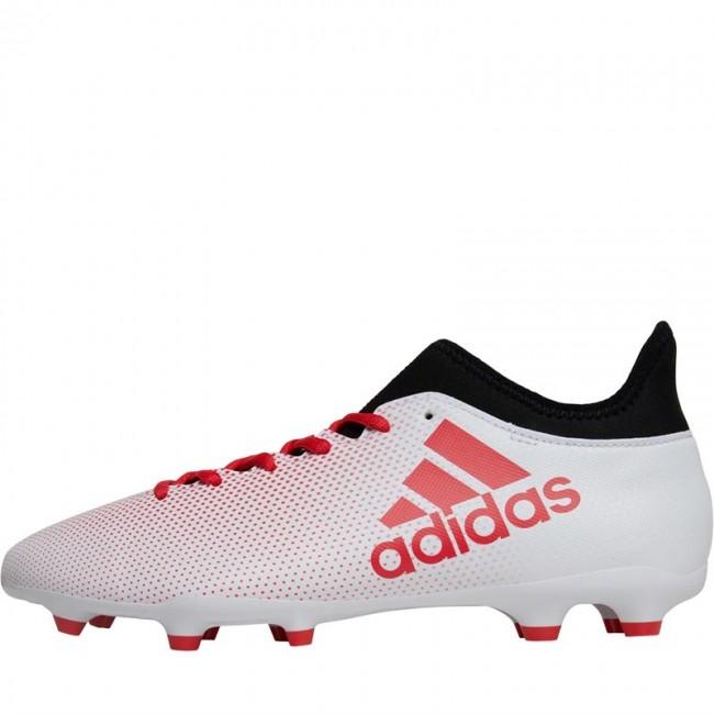 adidas X 17.3 FG  White/Real Coral/Black