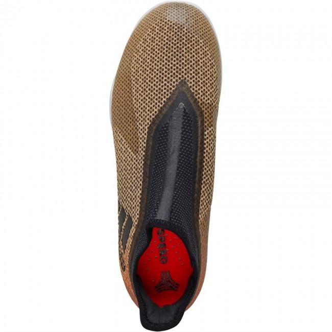 adidas X Tango 17 Plus Purespeed IN Tactile Gold Metallic/Schwarz/Solar Red
