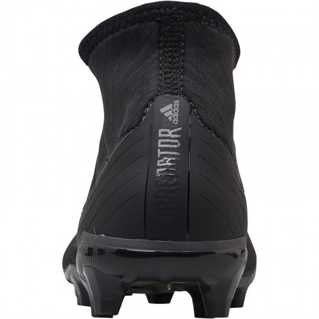 adidas Predator 18.2 FG Black/Black/Real Coral