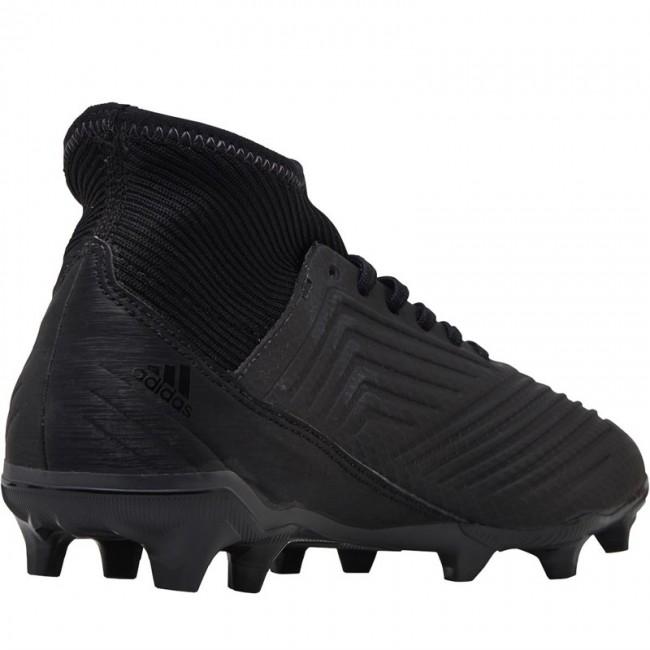 adidas Predator 18.3 FG Black/Black/Utility Black