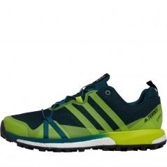 adidas TERREX Agravic GTX GORE-TEX Trail Mystery Green/Semi Solar Yellow/Black