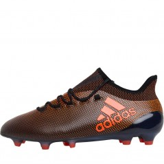 adidas X 17.1 FG Black/Solar Red/Solar Orange