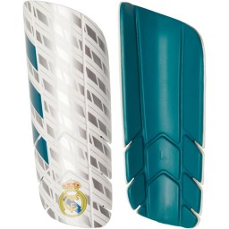 adidas RMCF Real Madrid Pro Lite Shin Guards Vivid Teal/White