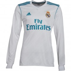 adidas RMCF Real Madrid Home Jersey White/Vivid Teal