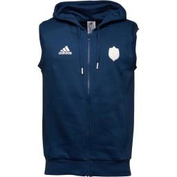 adidas FFR Collegiate Full Hoodie Mystery Blue/White