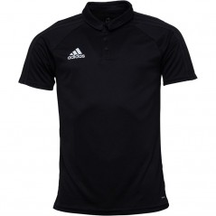 adidas Tiro 17 Polo Black/Dark Grey/White