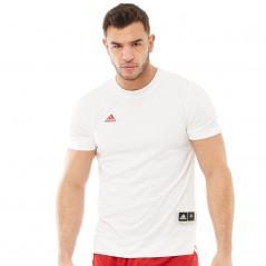 adidas Ekit Shooter BasketJersey White/Power Red