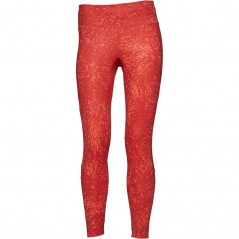 adidas How We Do 7/8 Printed Tights Real Coral/Trace Scarlet