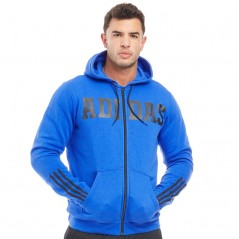 adidas Davivo Full Hoodie Blue