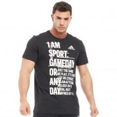 adidas ID Athletics Mantra I AM SPORT T-Black