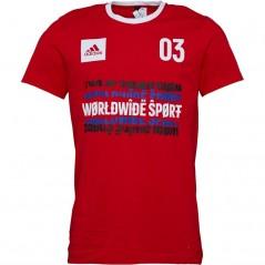 adidas Worldwide Sport T-Scarlet